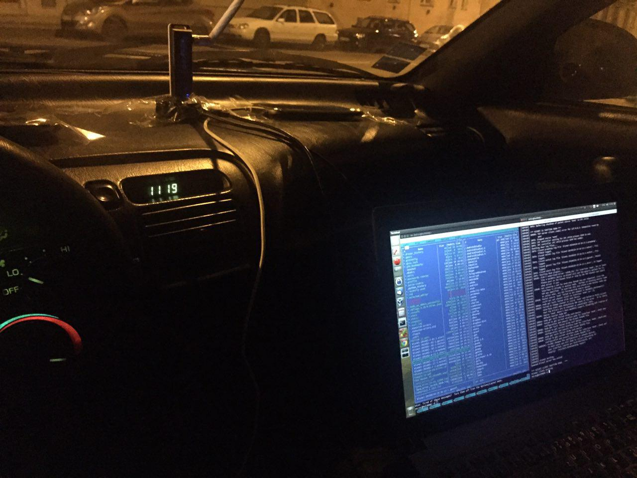 Wardriving setup
